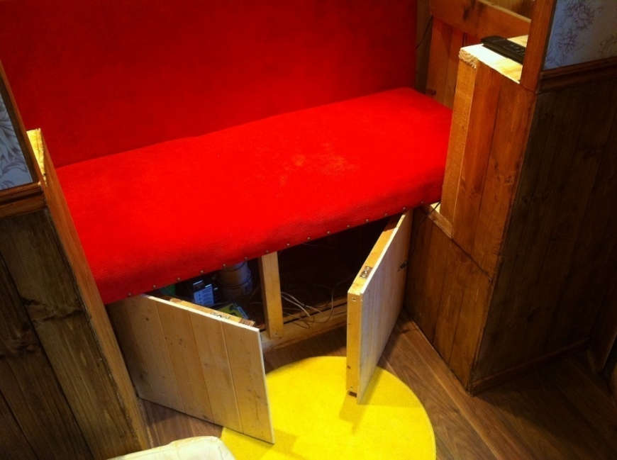 casa hobbit - interior