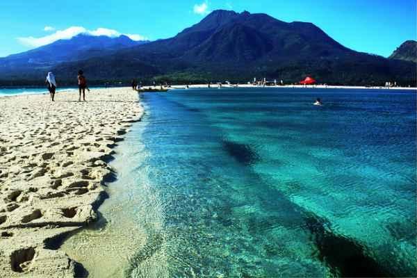 6- En la isla de Camiguin, Filipinas.
