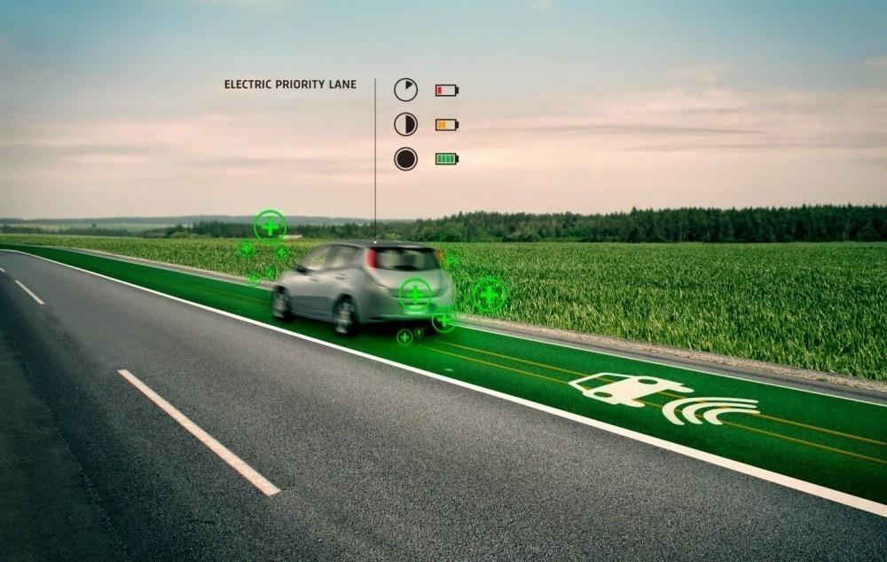 carreteras eléctricas - automóviles eléctricos - carreteras inteligentes- reino unido