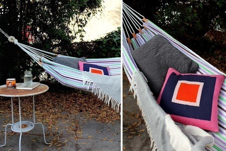 Hamaca para tu jardín o para llevar de camping