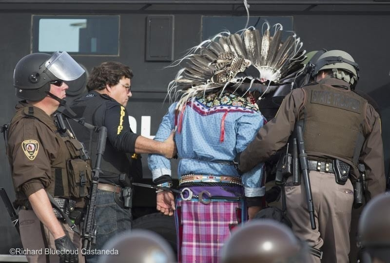 Dakota Access Pipeline pueblos originarios estados unidos