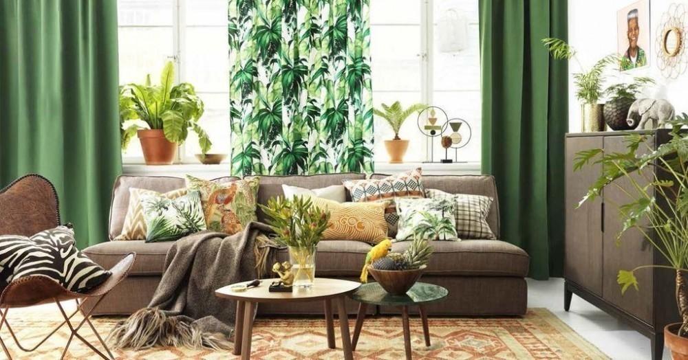 Cómo decorar con estilo tropical- sala