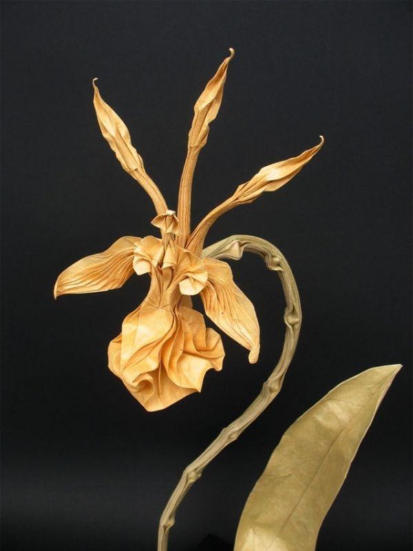 origami orquidea