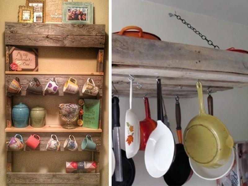 ideas con pallets - cocina