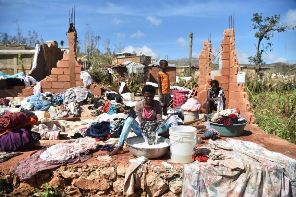 Haití luego del huracán Matthew
