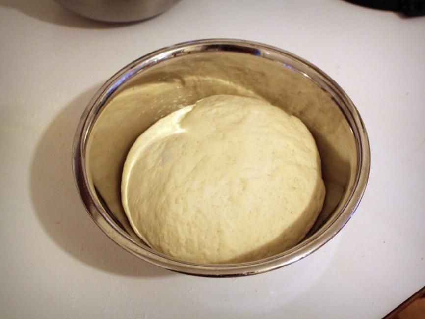 Pan de pita relleno - preparar pan