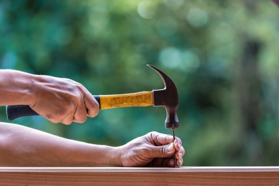 macetero para enredadera  - martillo