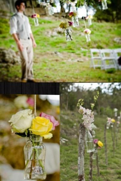 Eco-Vintage Little Wedding