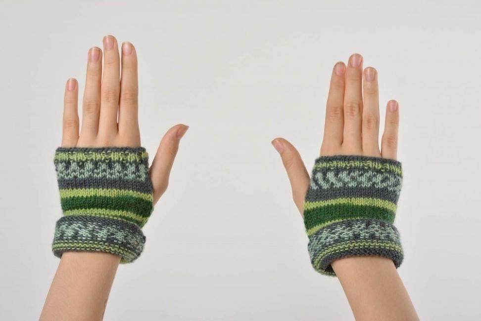 Cómo hacer guantes- modelo