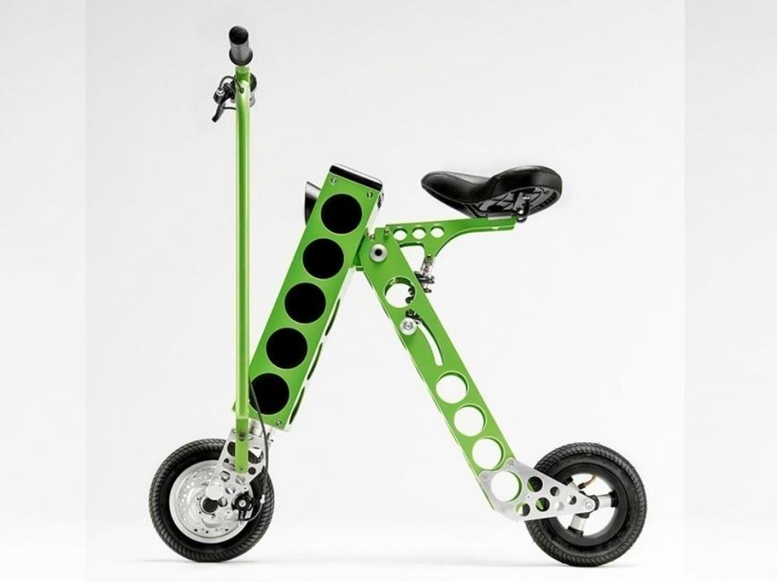 Urb-e- modelo- scooter eléctrica plegable