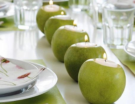 centro-de-mesa-de-manzanas-y-velas-manualidades-mane
