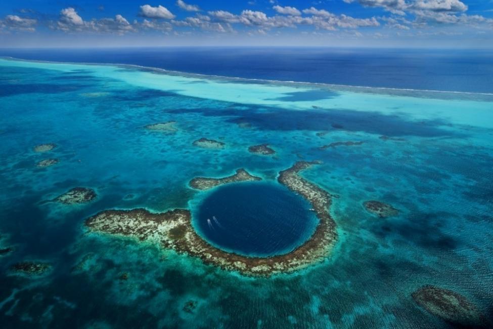 destinos latinoamérica agujero azul Belice