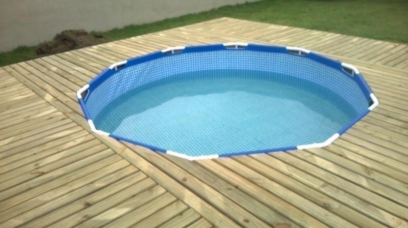deck cobertor para piscina de lona- paso a paso