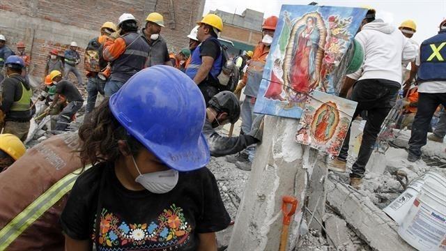 Terremoto en México septiembre de 2017
