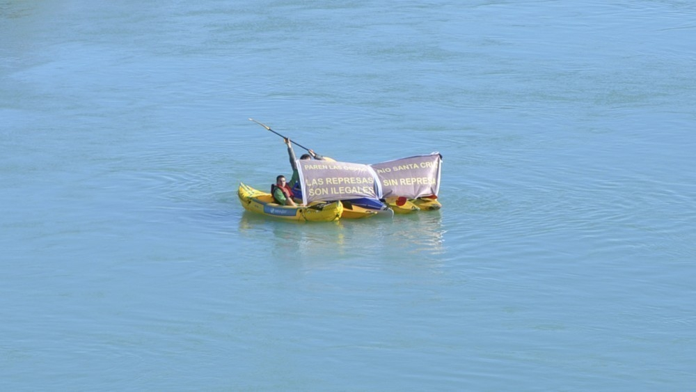 Salvá al Glaciar Perito Moreno - las represas son ilegales