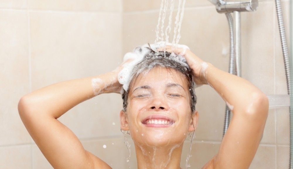 Calentador solar de agua - ducha
