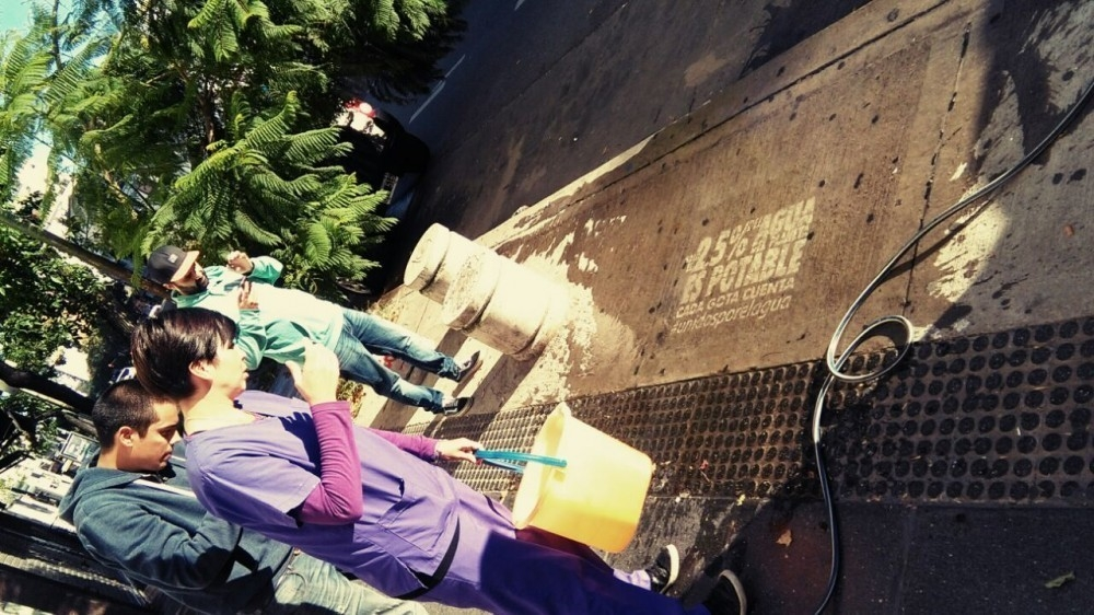 villa del sur- campaña cuidado del agua
