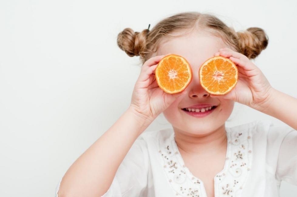 test de frutas - naranja