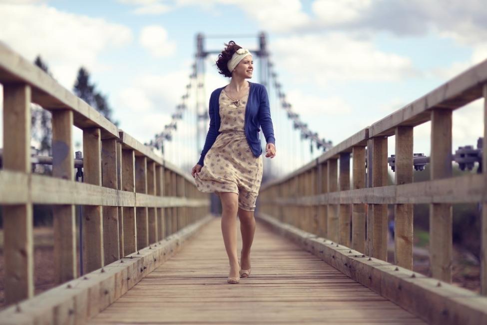 caminar oscilando- significado y personalidad