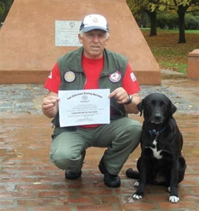 Camila, una perra certificada internacionalmente
