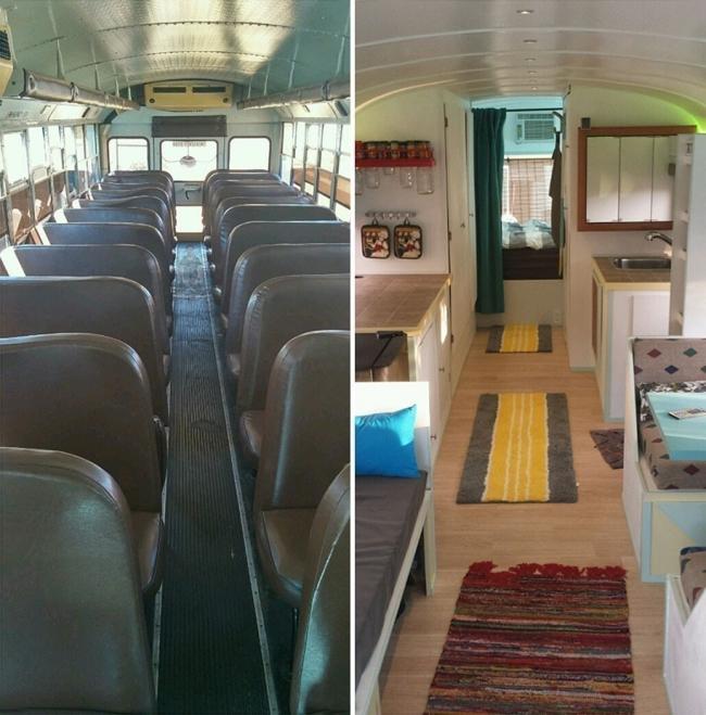 Recorrer el mundo en casa rodante - de autobús a casa rodante