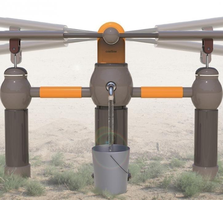 Un juego que permite obtener agua potable- filtrado de agua