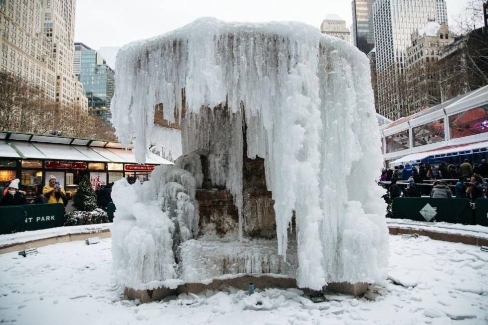 La ola de frío podría superar los récords registrados en el último siglo en este momento del año