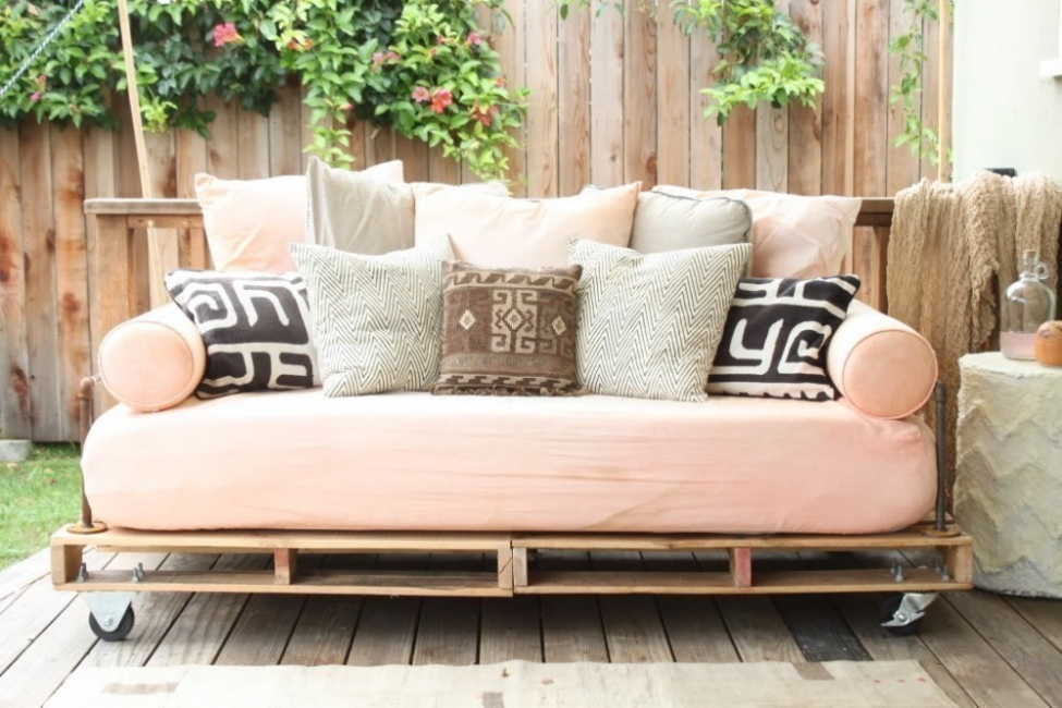 sofa cama pallets
