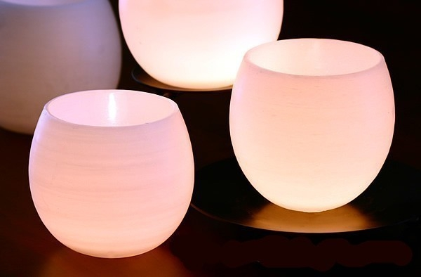 Luminarias brillantes fanales porta velas