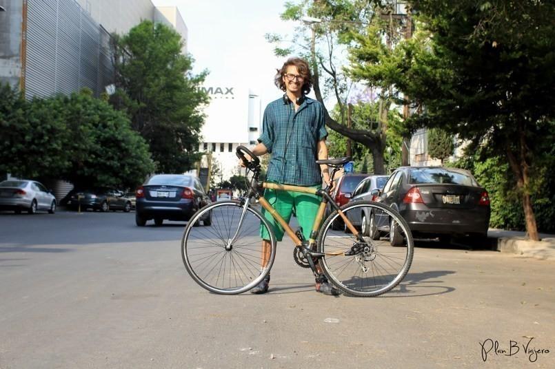 recorrer el mundo en bicicletas de bambu