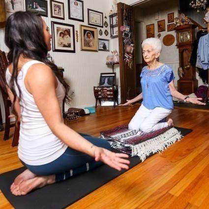 yoga ancianos- historia