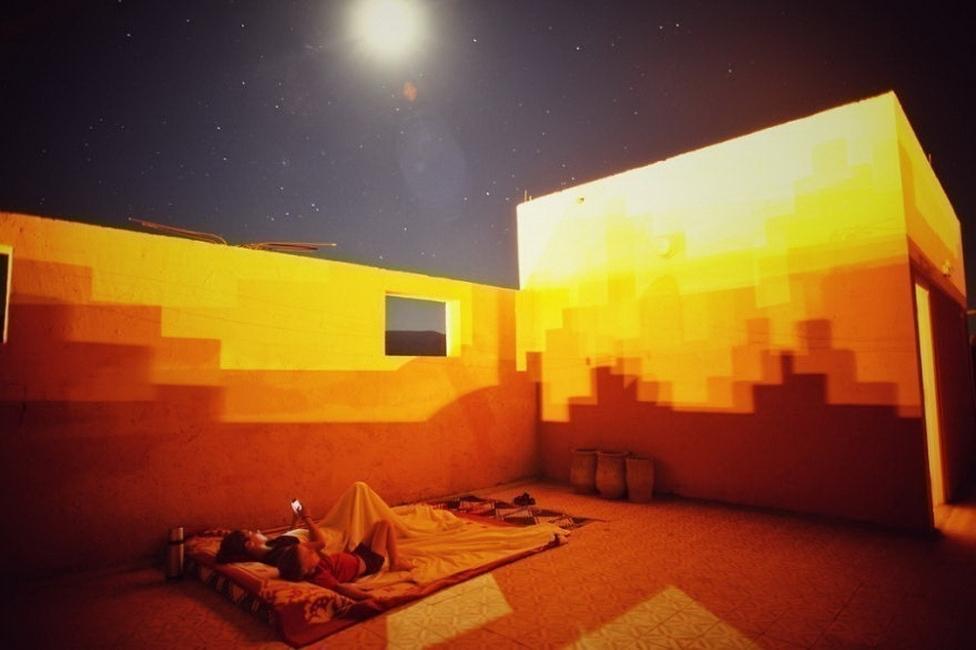 viajar con un niño pequeño- estrellas en marruecos