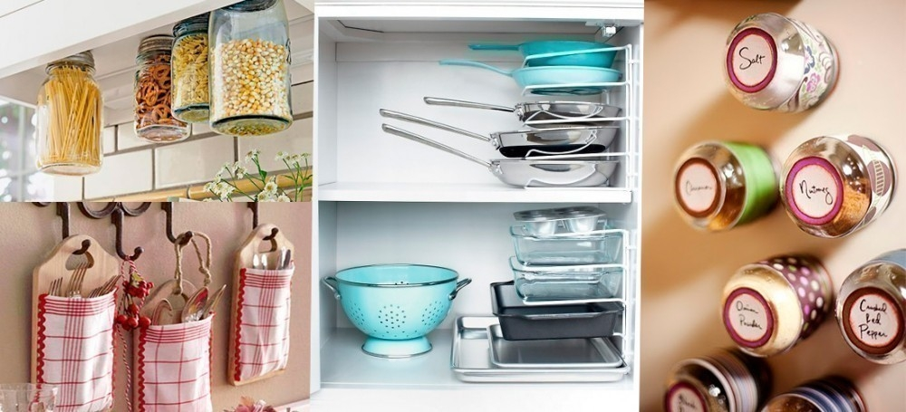 cocinas pequeñas- ideas - espacios reducidos