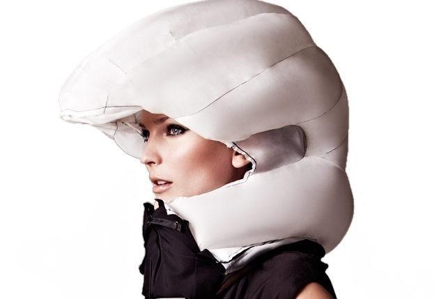 El nuevo airbag para evitar accidentes en bicicleta- inflado