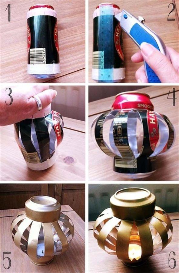 Fun-DIY-Crafty-ideas-Soda-can-lantern1