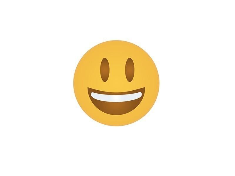 cara feliz- significado