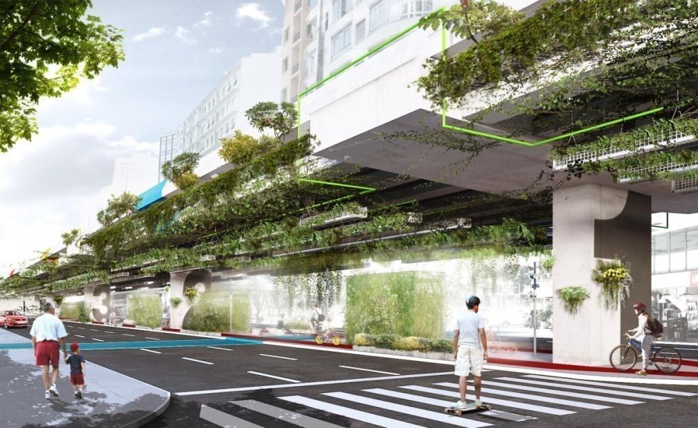 jardin colgante en san pablo filtra carbono