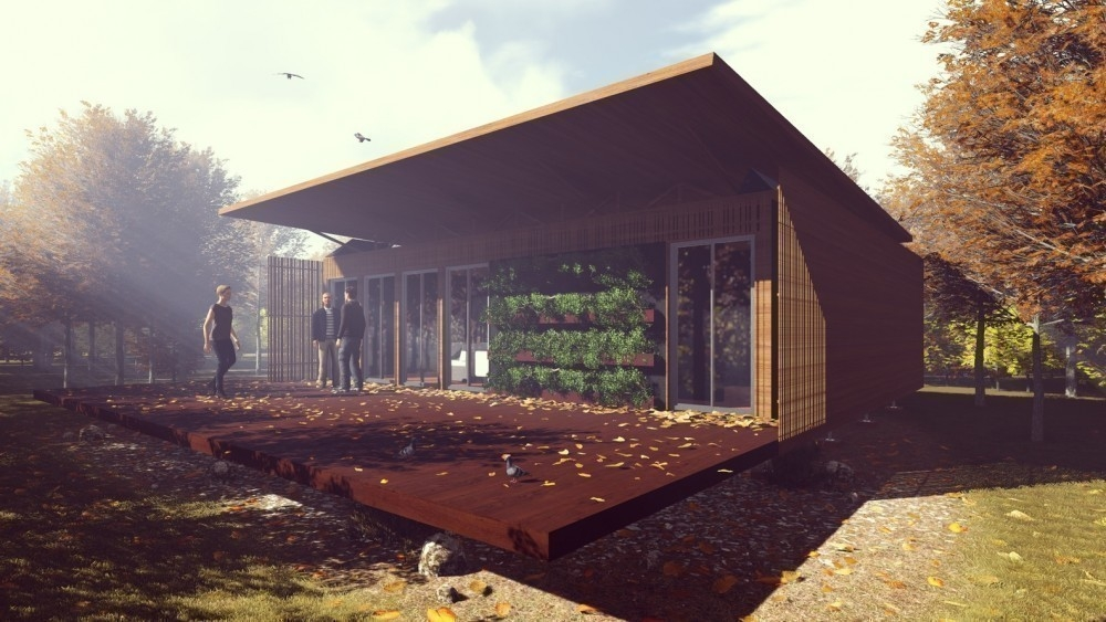 La mejor vivienda sostenible  - Solar Decathlon- prototipo