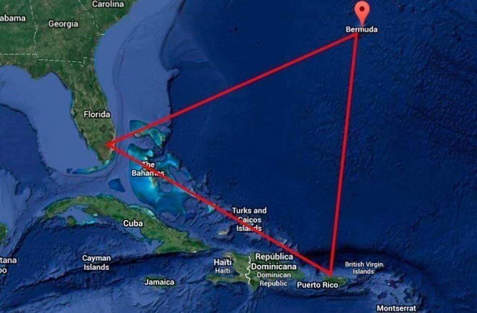 barco-Triángulo de las Bermudas