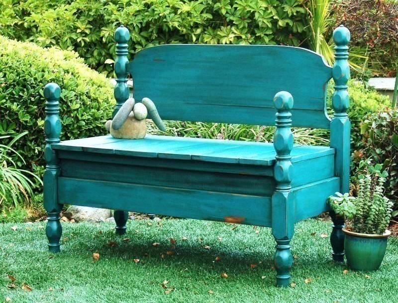 Cómo transformar una cama en un sillón - pintar