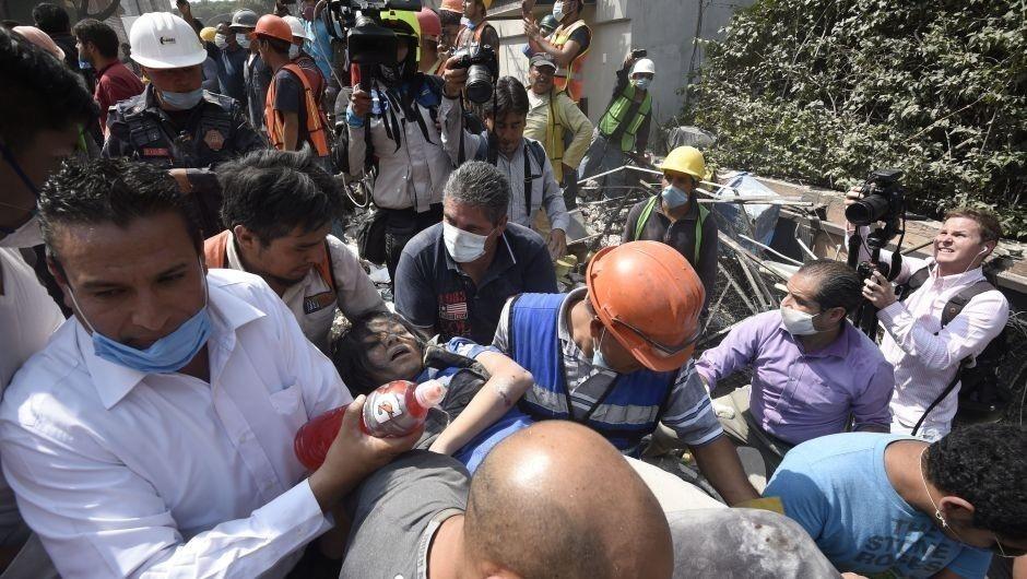 Al menos 100 muertos en el terremoto de este 19 de septiembre