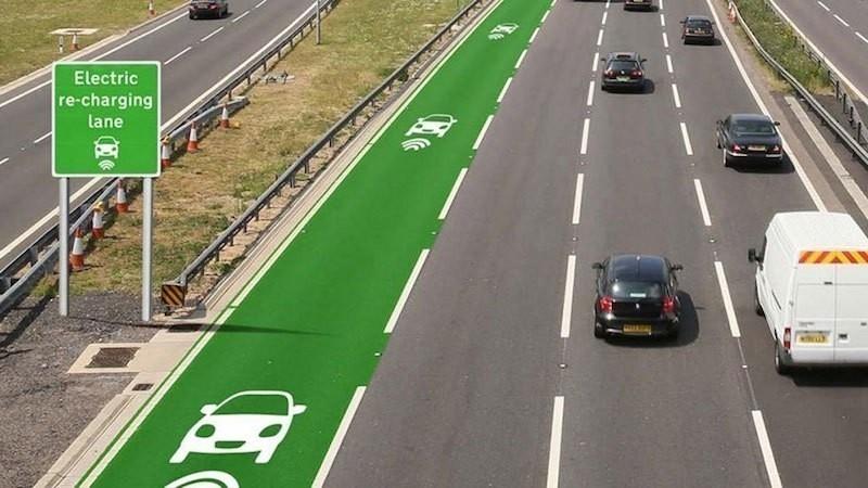 carreteras eléctricas - automóviles eléctricos - carreteras inteligentes