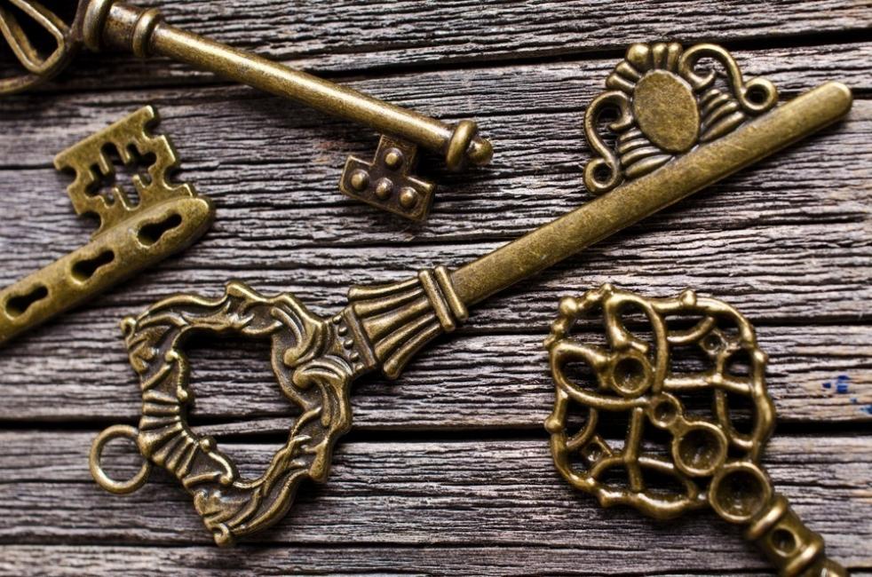 llaves antiguas - test de personalidad