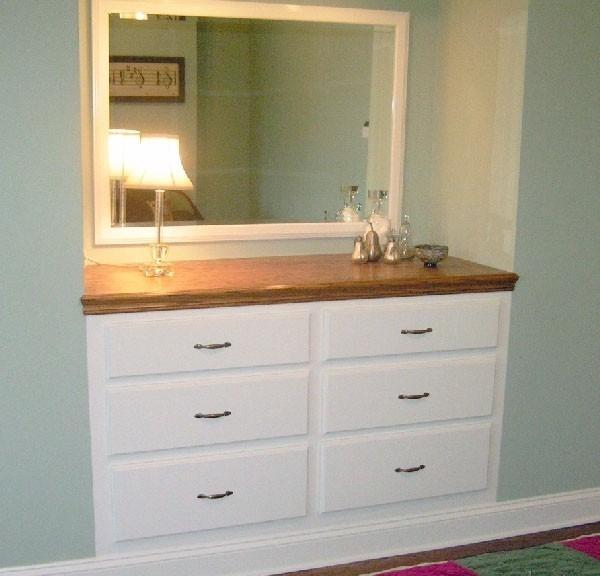 mueble empotrado para espacios pequeños