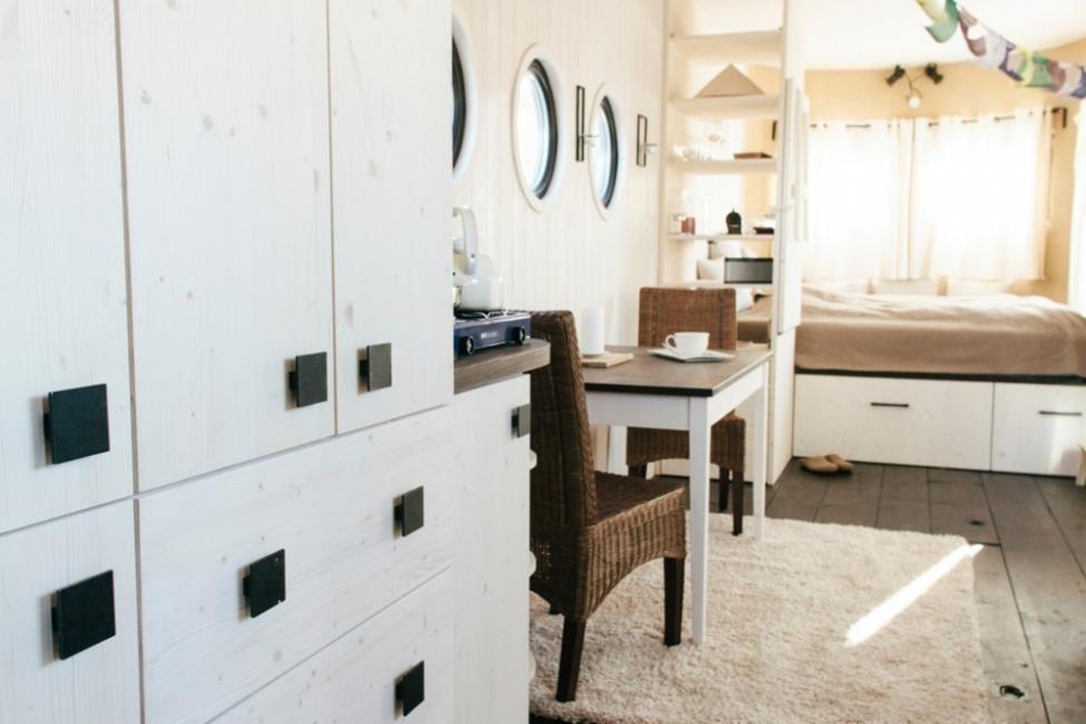 Una encantadora casita en muy pocos metros cuadrados- cajonera