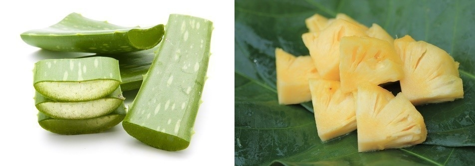 piña y anana