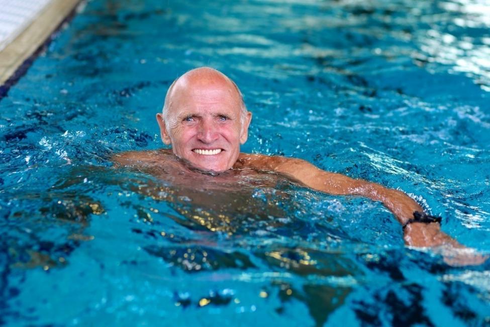 ejercicio en el agua