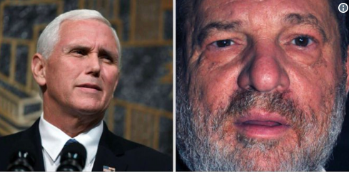 Mike Pence Weinstein