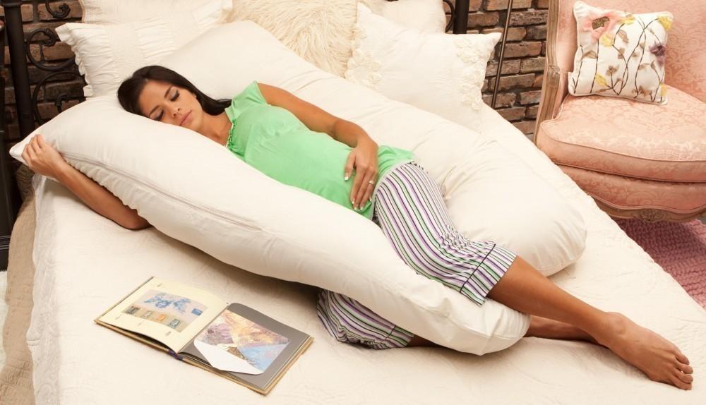 almohada entera embarazadas