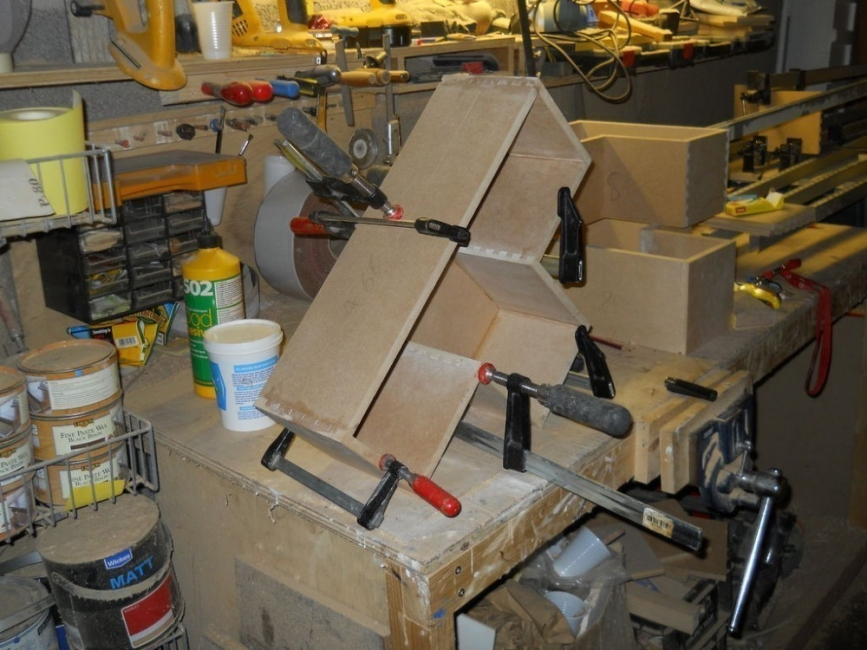 piezas para estantería tetris